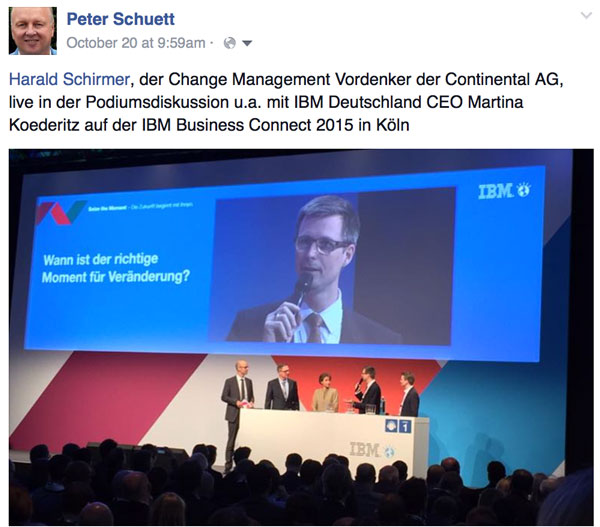 Schirmer IBM Business Connect 2015