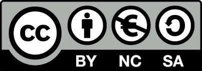 Meine Seite steht unter der Lizenz: Namensnennung-Nicht kommerziell-Share Alike 4.0 International