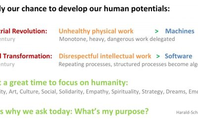 Ready to be human? #myWHY