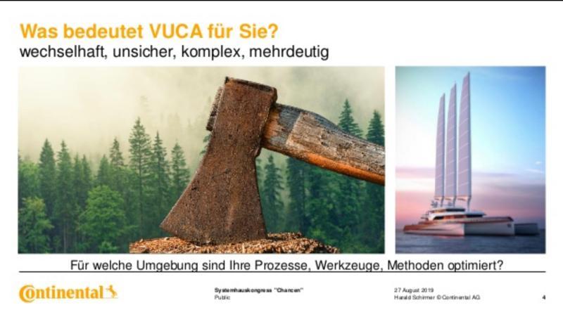 VUCA - Axt, Motorsäge, Ozean
