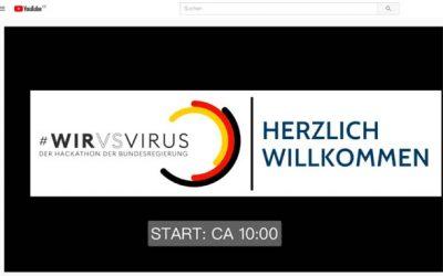 #WIRvsVIRUS Hackathon – die ersten 12 Stunden