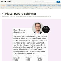Harald Schirmer - Top HR Influencer