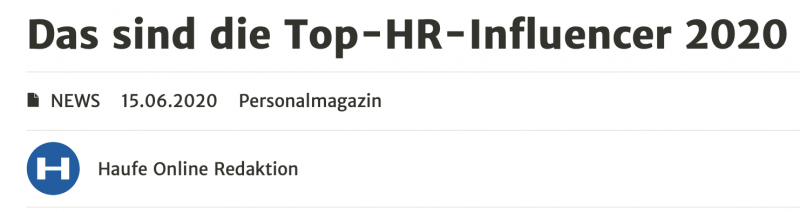 HR-Influencer 2020