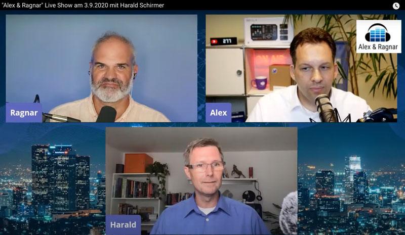 Live Screenshot der Sendung