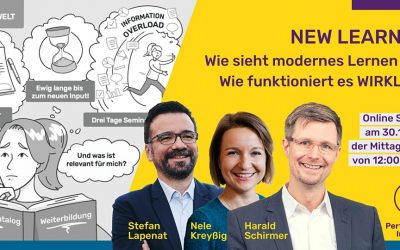 "Einladung zum Lunch and Learn ""New Learning"""