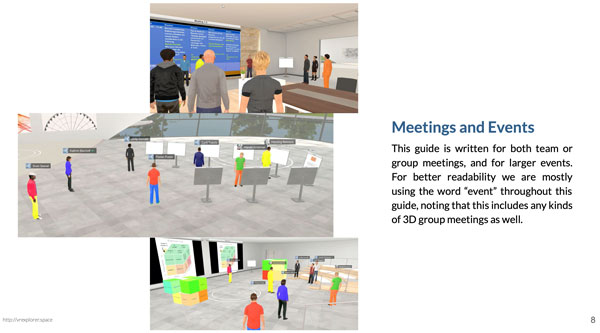Meeting und Events in Virtual Reality
